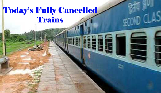 7th March Fully Cancel Trains list available here